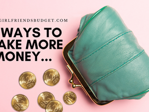 13 Ways To Make Money Without Spending Money... First!