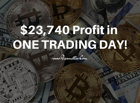 Trend Trading... and a $23,740.25 Profit in ONE DAY!