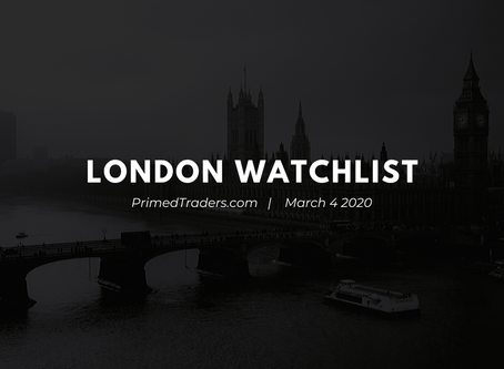 London Watchlist [March 4.2020]