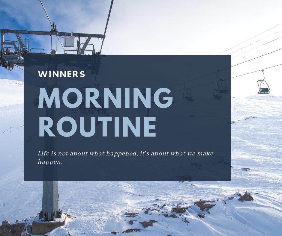 routine winners
