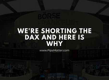 We're shorting the DAX and here is why