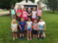 Group of preschool age children