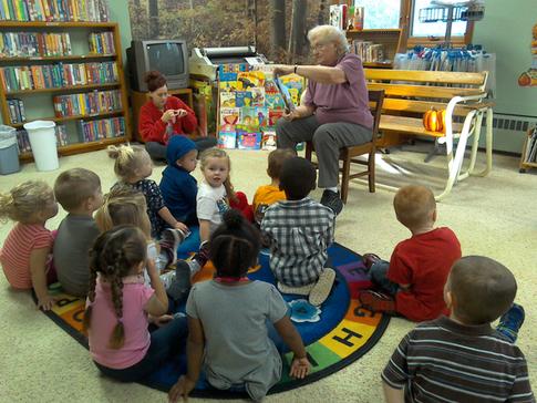 Preschool Library Time