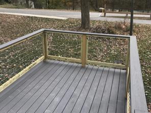 Riparian House - Deck