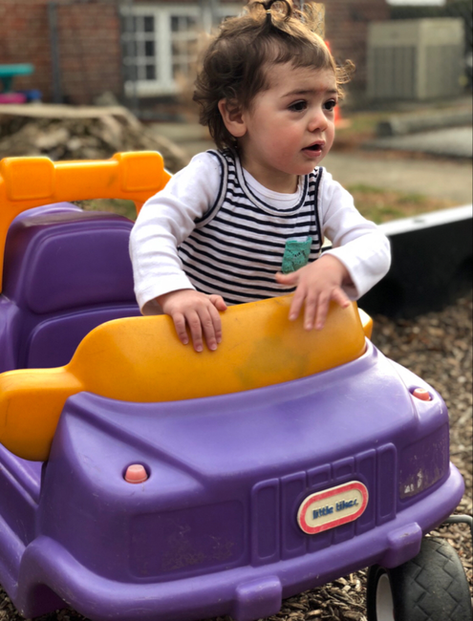 Outside Daycare Playtime