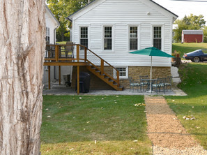 Riparian House - Back