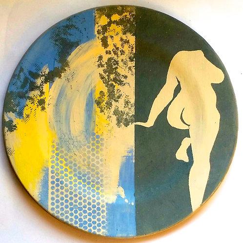 Ceramic plate - Figure 1