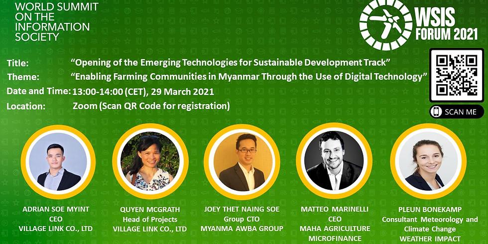 Enabling Farming Communities in Myanmar Through the Use of Digital Technology