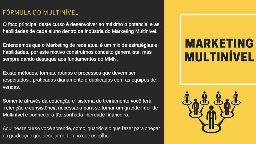 Fórmula do Multinível 5