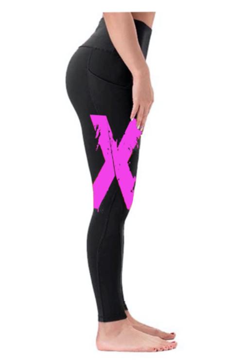 """""""X"""" Xtreme Sportswear Leggings - Pink"""