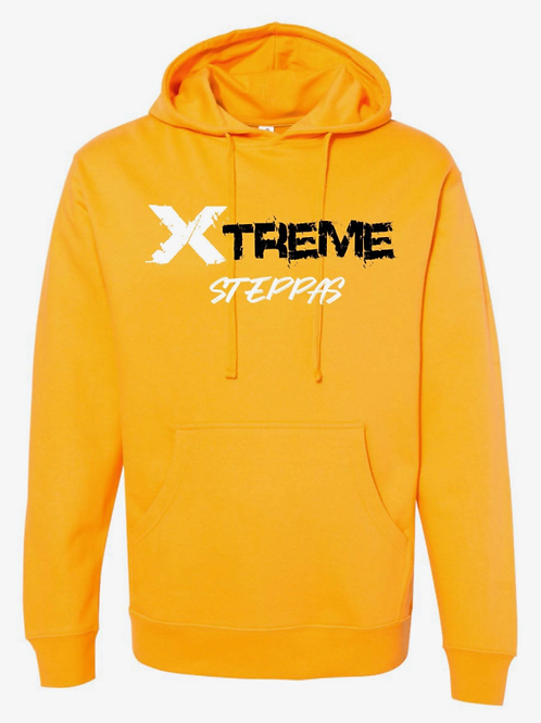 """Xtreme Steppas"" Hoodie -Yellow"