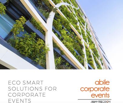 Soluciones prácticas para crear eventos sostenibles de impacto