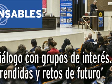 Presentación del anuario Corresponsables Barcelona 2020