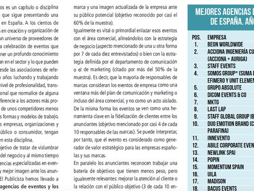 Número 12 en las mejores agencias de España