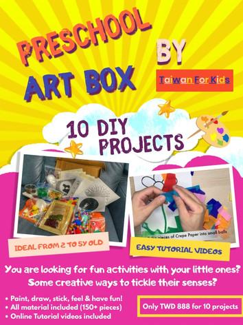 Preschool Art Box (DIY)