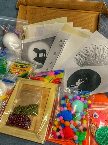 Preschool DIY Arts & Craft Box (example)