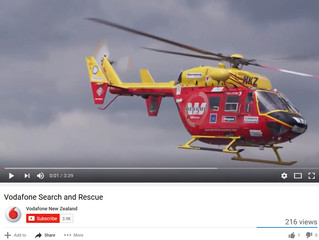 New Search and Rescue Mobile Network tested by Vodafone