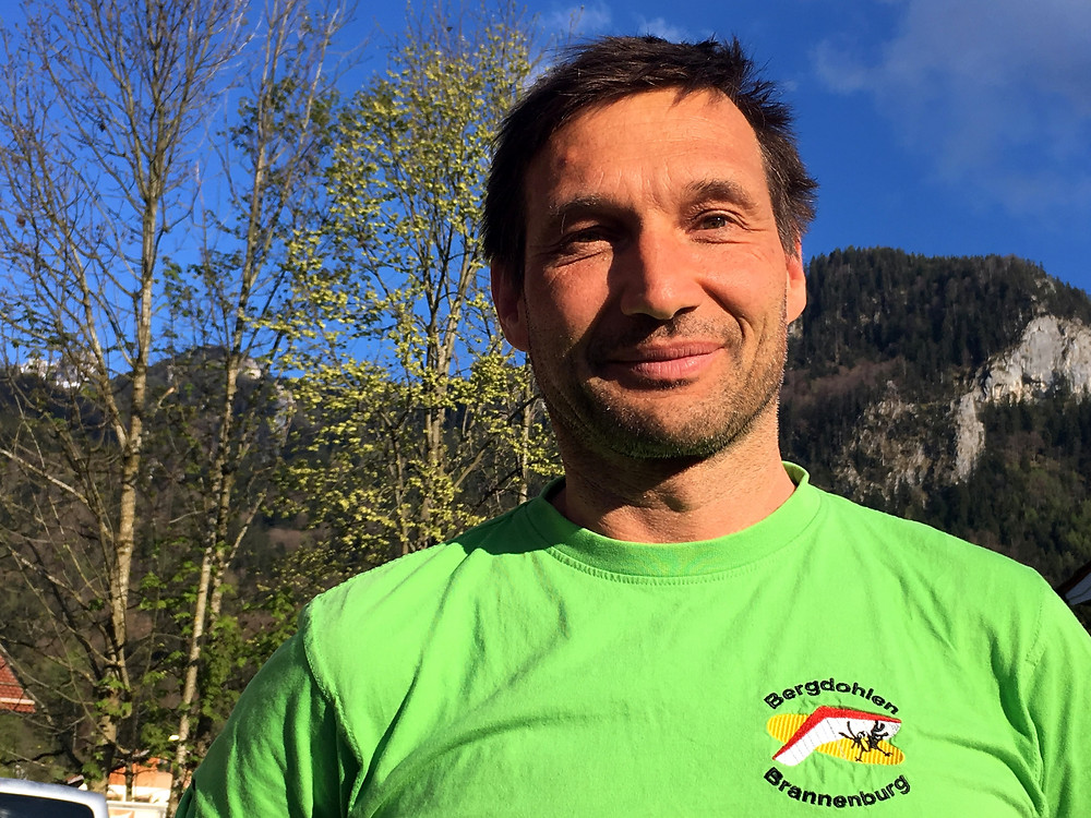 Uli Strasser is one of the most experienced German XC paragliding pilots
