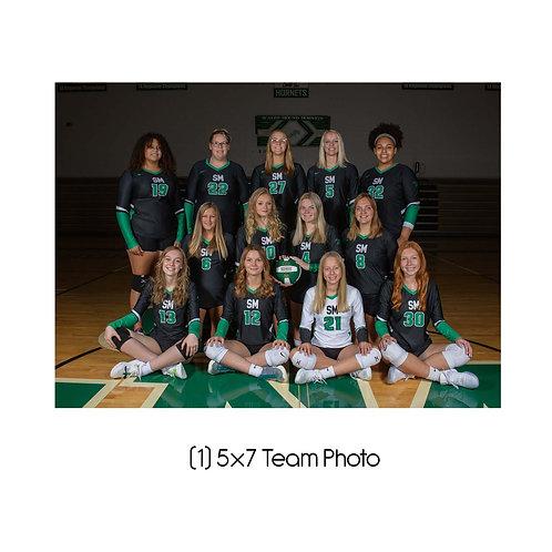 "5"" x 7"" Team Photo"