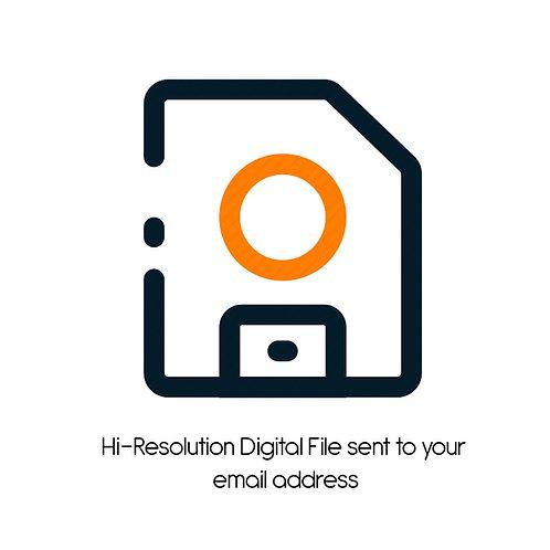 High Resolution Digital File