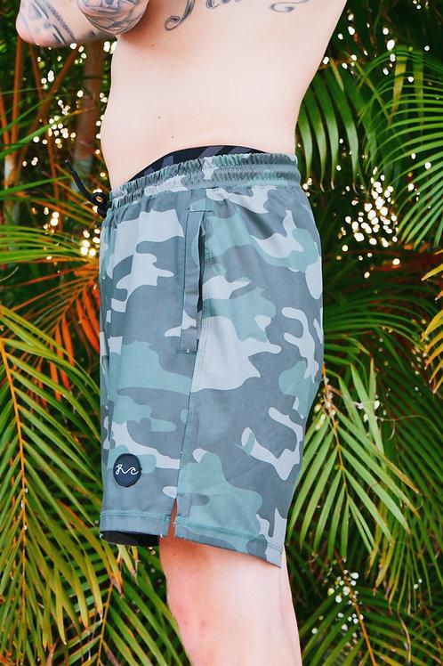 Crossover Camo Shorts