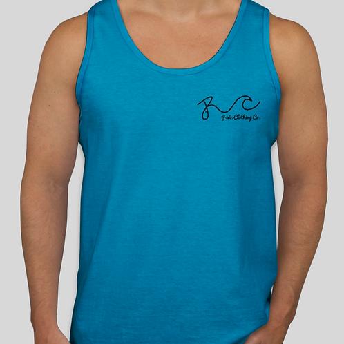 Authentic Surf Tank Blue