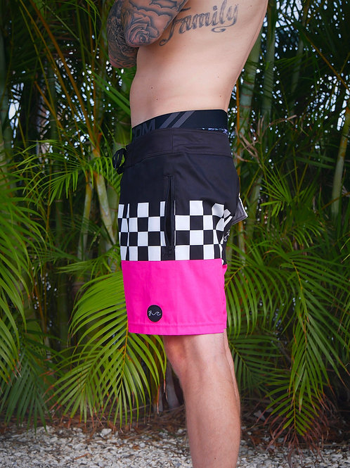 Checkered Boardshorts