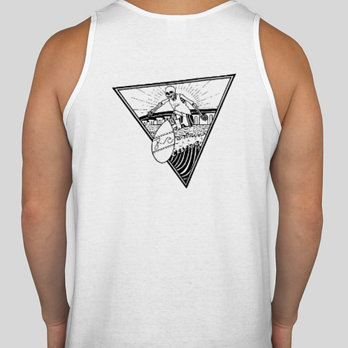 Authentic Surf Tank White