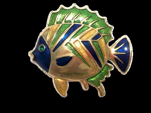 Broche de peixe