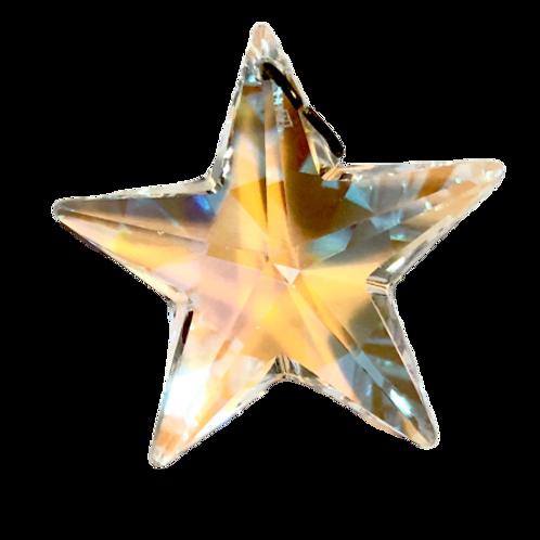 Pingente de estrela boreal Swarovski