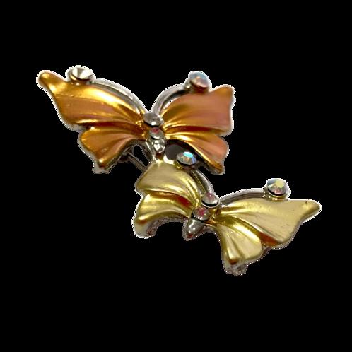Broche de borboletas