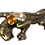 Thumbnail: Pingente pantera com cristais