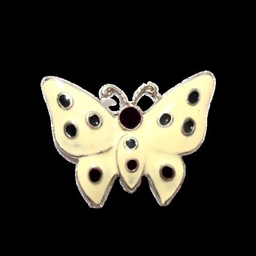 Broche de borboleta