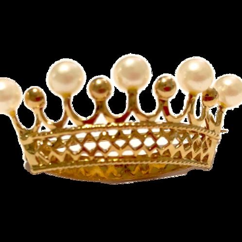 Broche de coroa