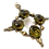 Thumbnail: Pingente losango com cristais