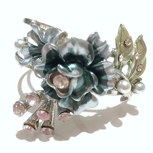 Bracelete arranjo floral