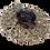 Thumbnail: Pingente mandala prateada com Swarovski