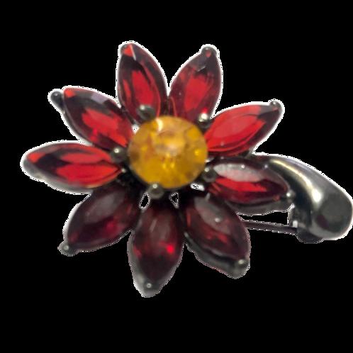 Broche de flor