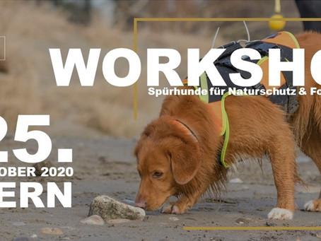Artenspürhunde Workshop 25.10.20 in Bern