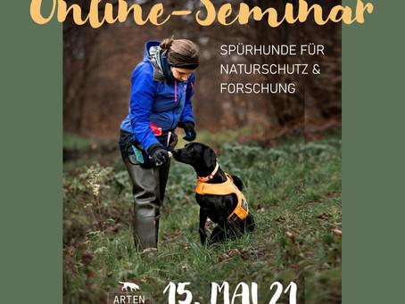 Online-Seminar - SPÜRHUNDE FÜR NATURSCHUTZ & FORSCHUNG