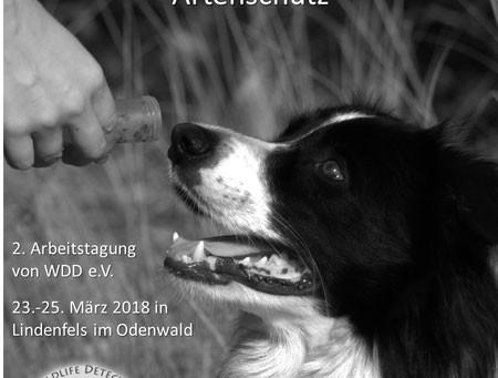 2. Arbeitstagung für den Einsatz von Hunden zum Artnachweis