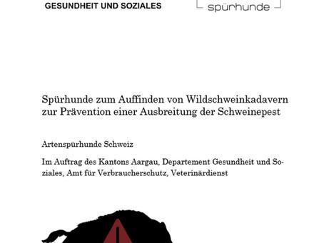 ASP-Suchhunde für den Kanton Aargau