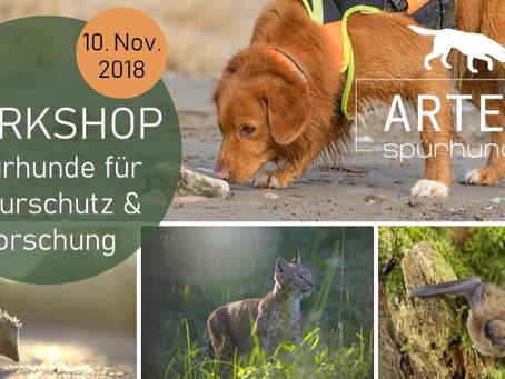 1. Artenspürhunde Workshop