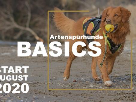 1. Artenspürhunde Basics-Kurs