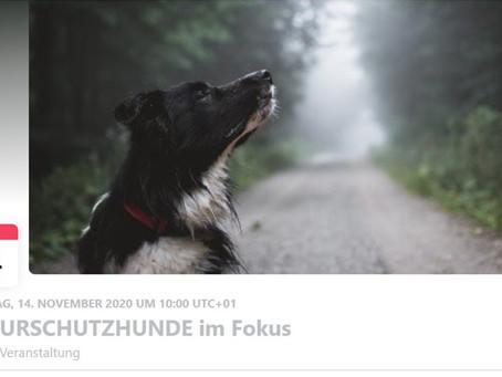 "Vortrag an der 2. Naturschutzhunde-Tagung ""Naturschutzhunde im Fokus"""