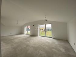 obývacia izba s jedálňou