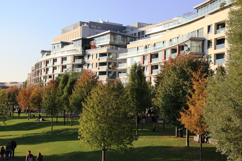EUROVEA apartments building