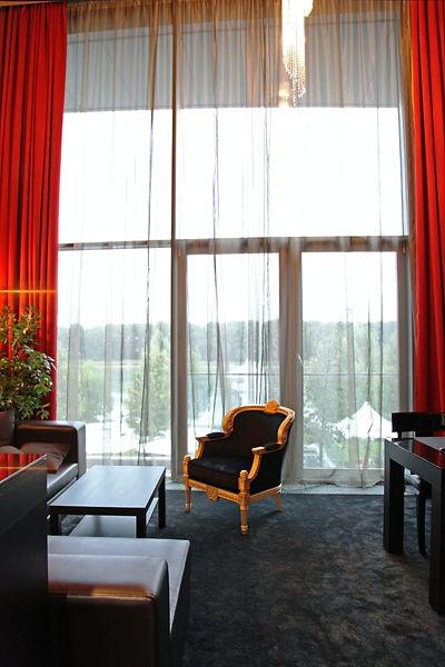 eurovea apartment in Bratislava Danube view