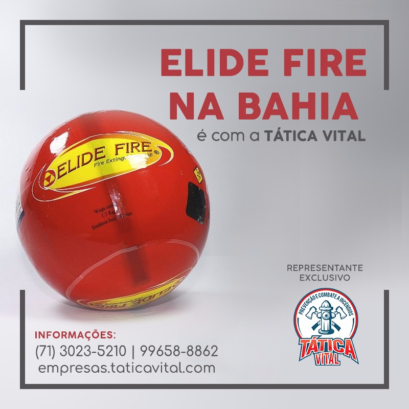 Elide Fire na Bahia