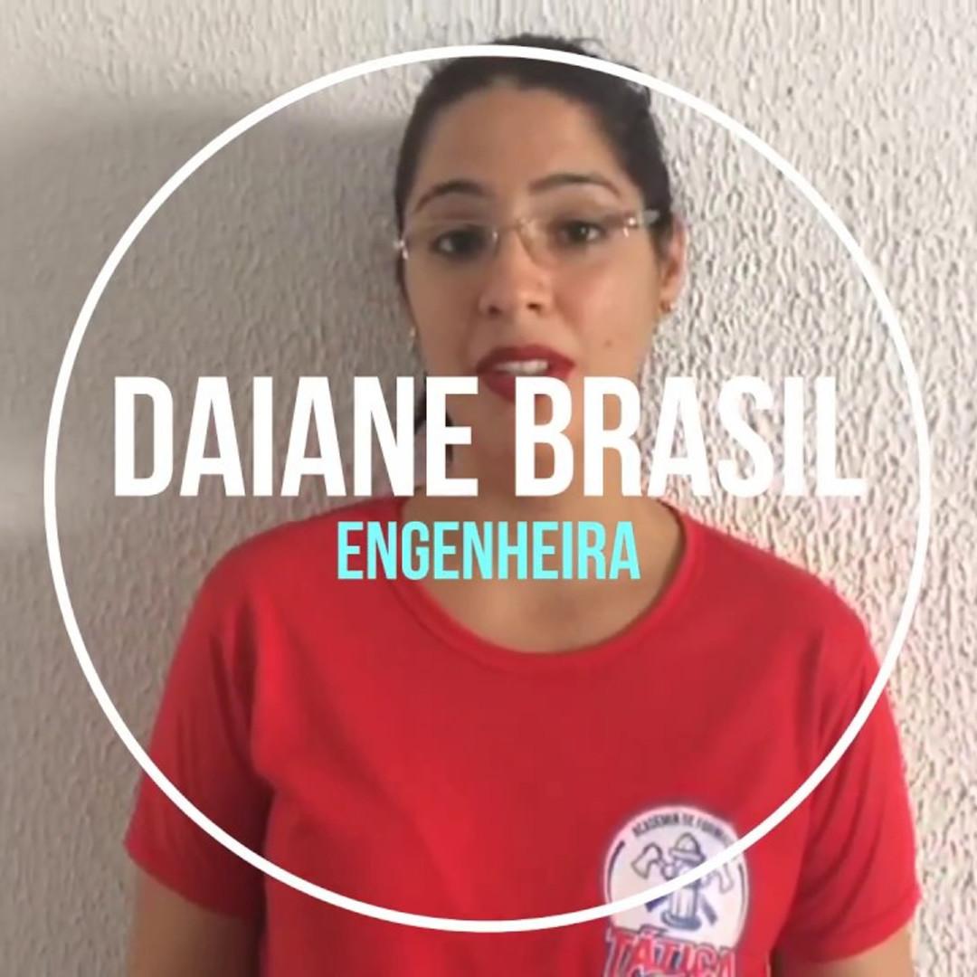 Depoimento Daiane Brasil